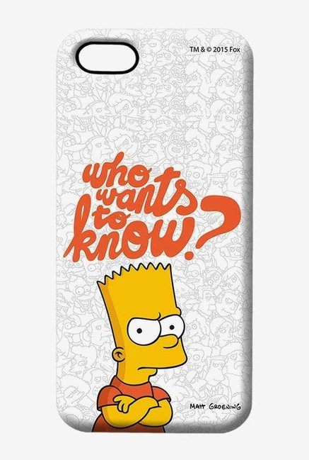 Simpsons Who Wants To Know Case for iPhone 5/5s