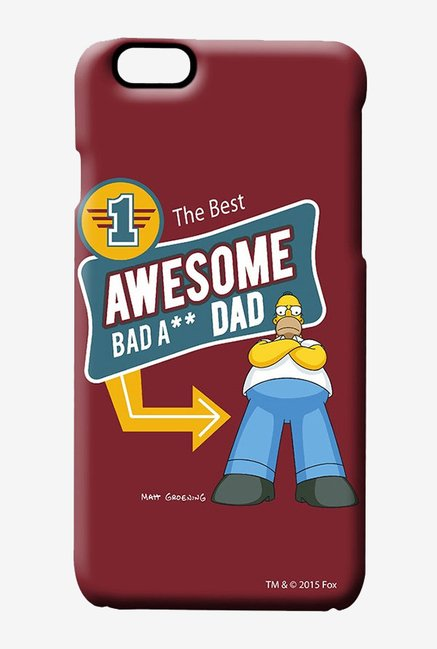 Simpsons Awesome Dad Case for iPhone 6