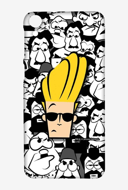 Johnny Bravo Doodle Case for HTC Desire 826