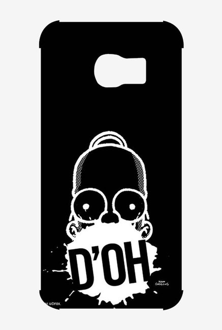 Simpsons D'OH Black Case for Samsung S6 Edge
