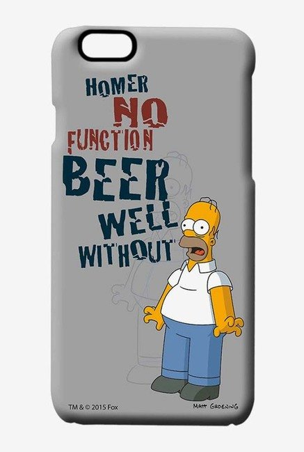 Simpsons Homers Poison Case for iPhone 6