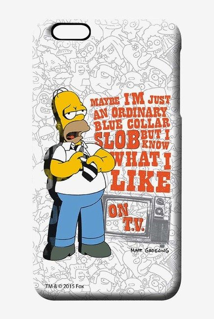 Simpsons Blue Collar Slob Case for iPhone 6 Plus