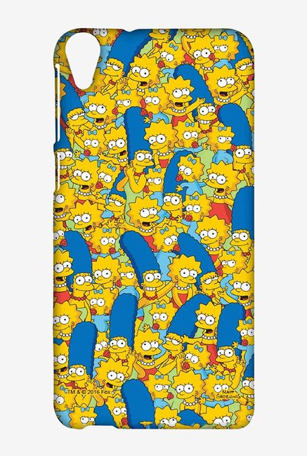 Simpsons Pattern Case for HTC Desire 820