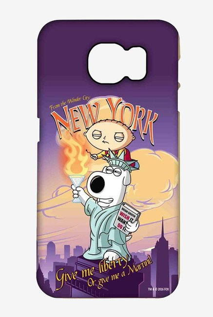 Family Guy Brian Liberty New York Case for Samsung S6 Edge+
