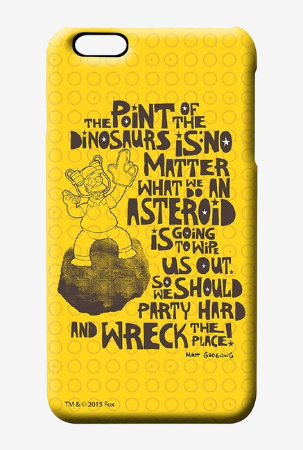 Simpsons The Dinosaur Theory Case for iPhone 6 Plus