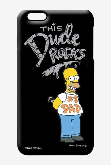 Simpsons This Dude Rocks Case for iPhone 6 Plus