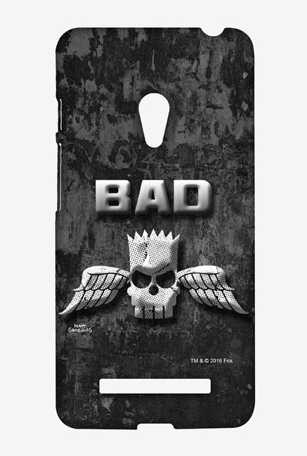 Simpsons Cracked Wall Bart Case for Asus Zenfone 5