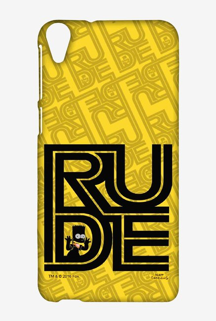 Simpsons Rude Case for HTC Desire 820
