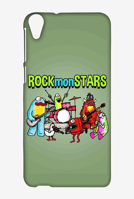 Kritzels Rockmonstars Case for HTC Desire 820