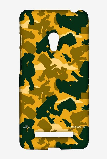 Simpsons Camo Bart Case for Asus Zenfone 5
