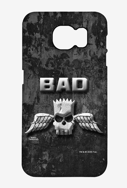 Simpsons Cracked Wall Bart Case for Samsung S6 Edge Plus