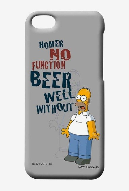 Simpsons Homers Poison Case for iPhone 5C