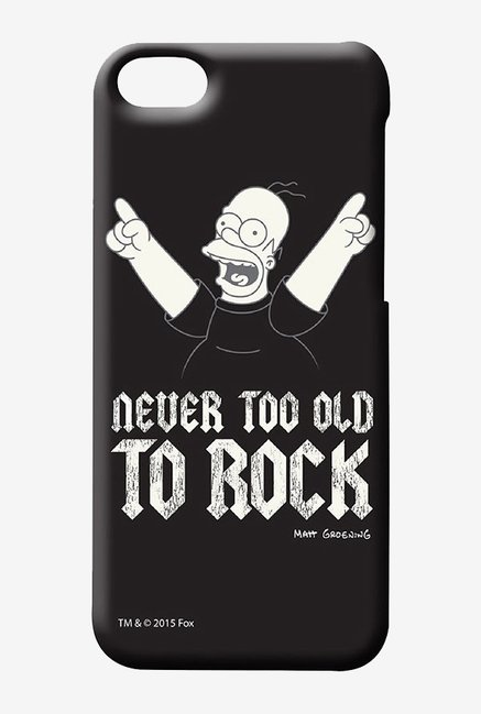 Simpsons Rockstar Homer Case for iPhone 5C