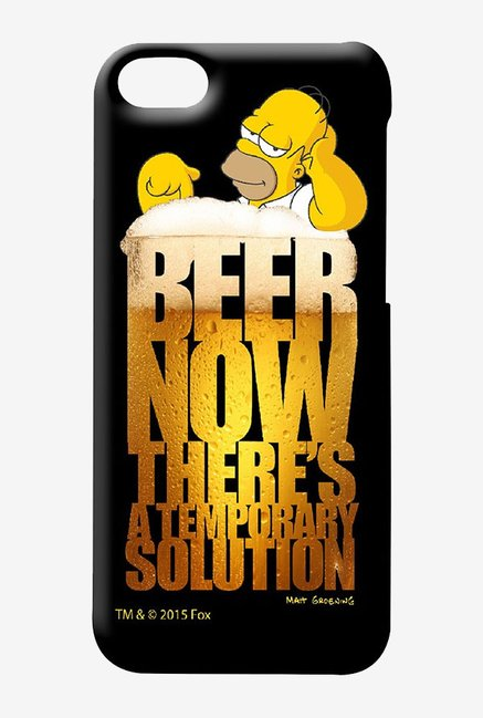 Simpsons The Beer Solution Case for iPhone 5C