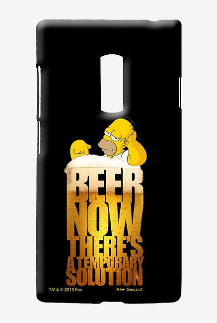 Simpsons The Beer Solution Case for Oneplus Two