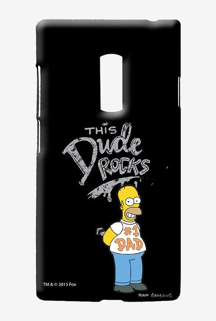 Simpsons This Dude Rocks Case for Oneplus Two