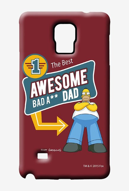 Simpsons Awesome Dad Case for Samsung Note 4