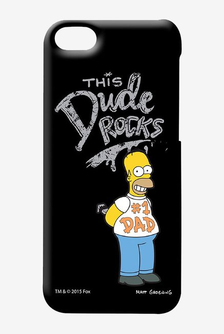 Simpsons This Dude Rocks Case for iPhone 5C