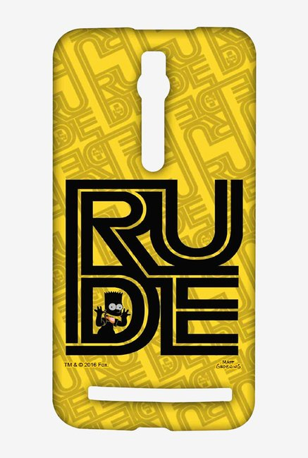 Simpsons Rude Case for Asus Zenfone 2