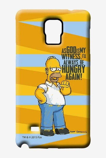 Simpsons Hungry Homer Case for Samsung Note 4