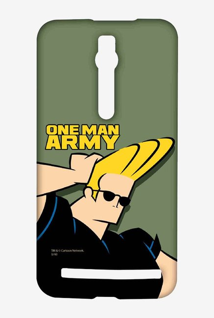 Johnny Bravo One Man Army Case for Asus Zenfone 2