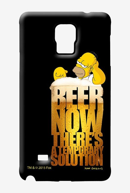 Simpsons The Beer Solution Case for Samsung Note 4