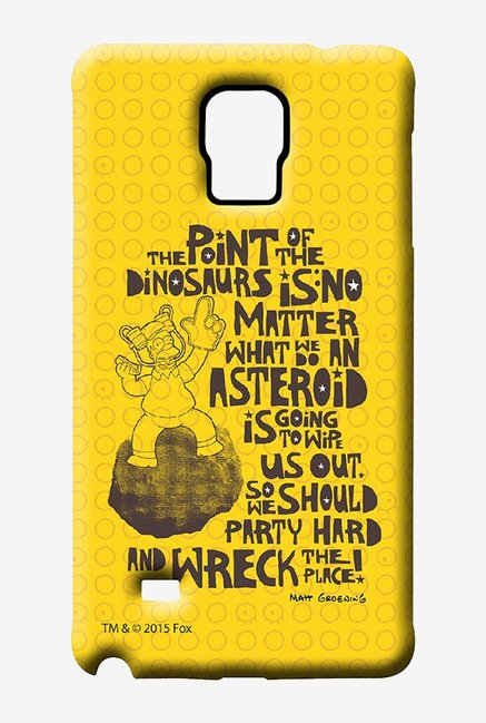 Simpsons The Dinosaur Theory Case for Samsung Note 4