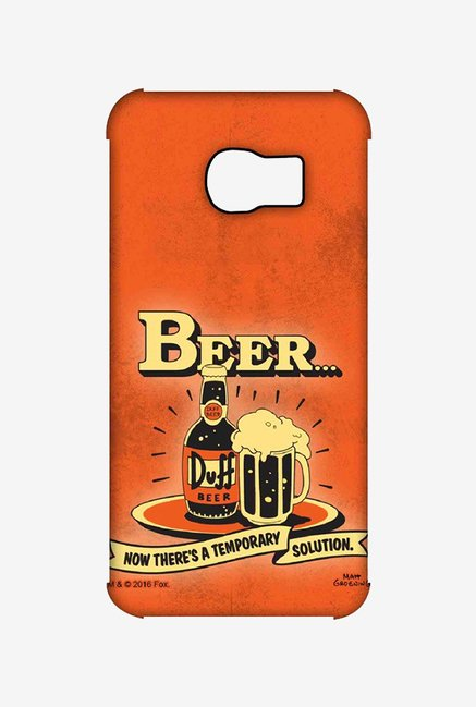 Simpsons Temporary Solution Case for Samsung S6 Edge