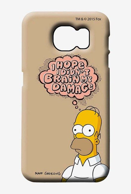 Simpsons Brain Humour Case for Samsung S6