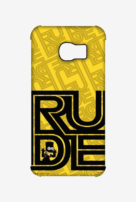 Simpsons Rude Case for Samsung S6 Edge