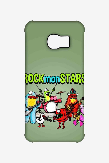 Kritzels Rockmonstars Case for Samsung S6 Edge