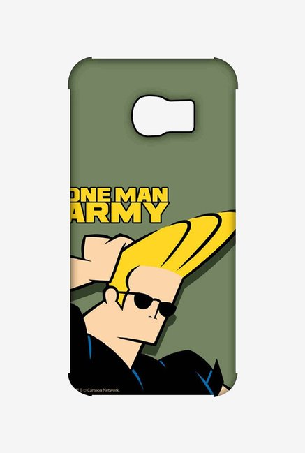 Johnny Bravo One Man Army Case for Samsung S6 Edge
