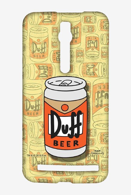 Simpsons Duff Beer Case for Asus Zenfone 2