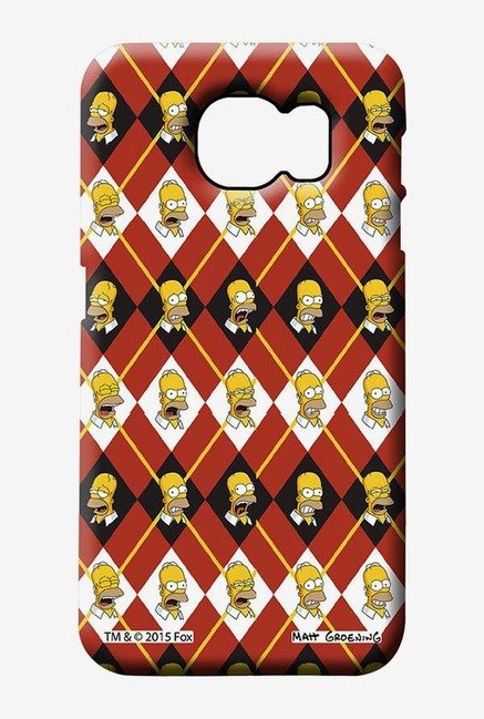 Simpsons Homer Moods Case for Samsung S6