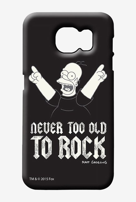 Simpsons Rockstar Homer Case for Samsung S6