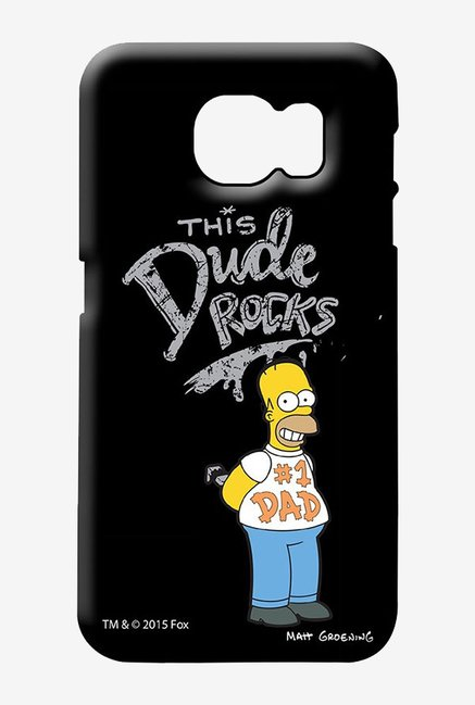 Simpsons This Dude Rocks Case for Samsung S6