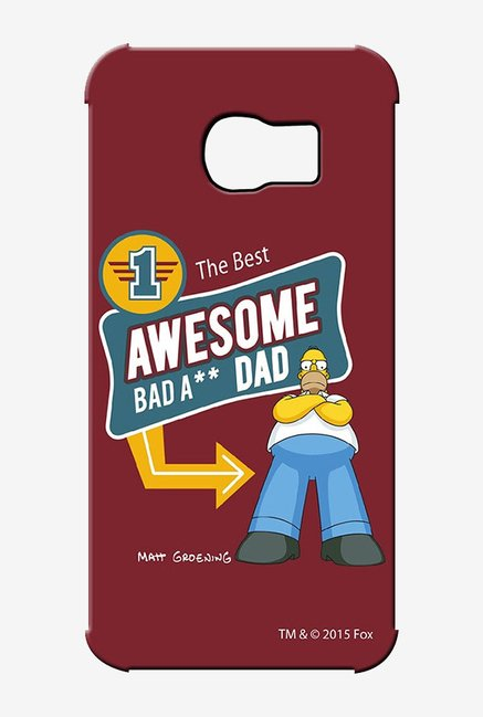 Simpsons Awesome Dad Case for Samsung S6 Edge
