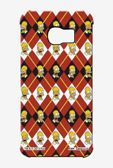 Simpsons Homer Moods Case for Samsung S6 Edge