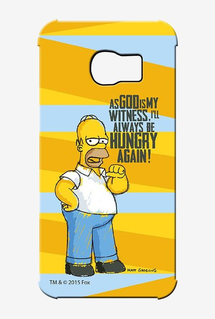 Simpsons Hungry Homer Case for Samsung S6 Edge