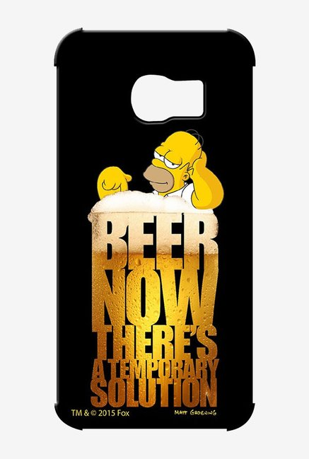 Simpsons The Beer Solution Case for Samsung S6 Edge