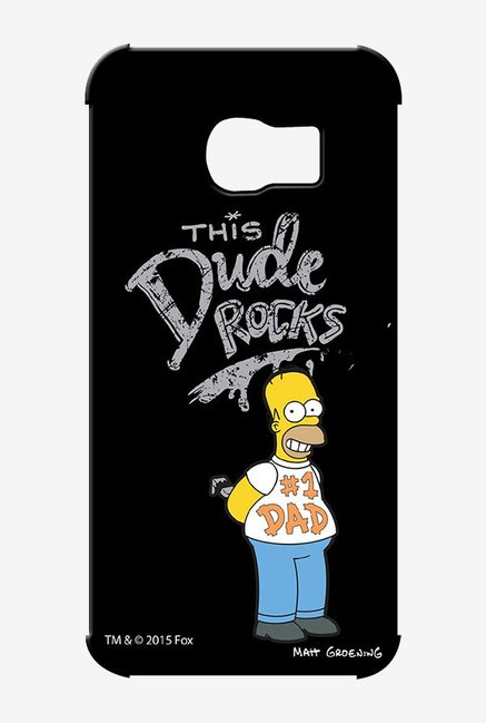 Simpsons This Dude Rocks Case for Samsung S6 Edge