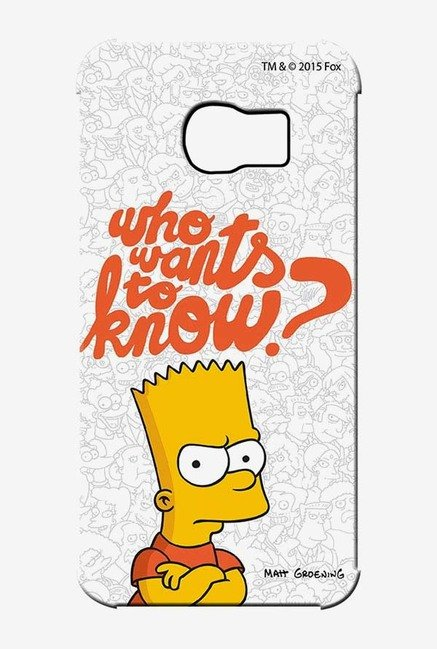 Simpsons Who Wants To Know Case for Samsung S6 Edge