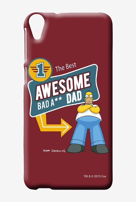 Simpsons Awesome Dad Case for HTC Desire 820