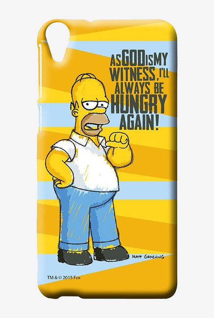 Simpsons Hungry Homer Case for HTC Desire 820