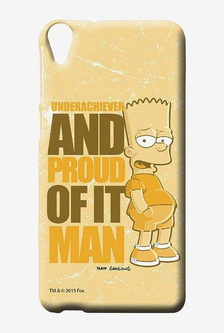 Simpsons Proud Underachiever Case for HTC Desire 820