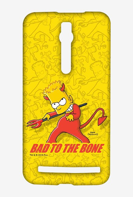 Simpsons Bad To The Bone Case for Asus Zenfone 2