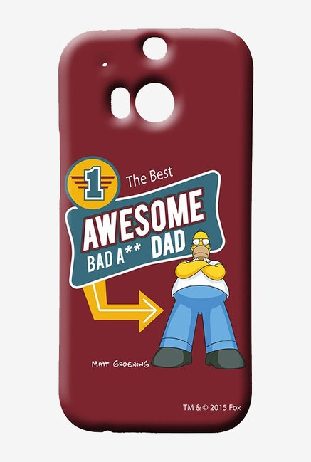 Simpsons Awesome Dad Case for HTC One M8