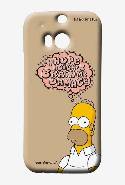 Simpsons Brain Humour Case for HTC One M8
