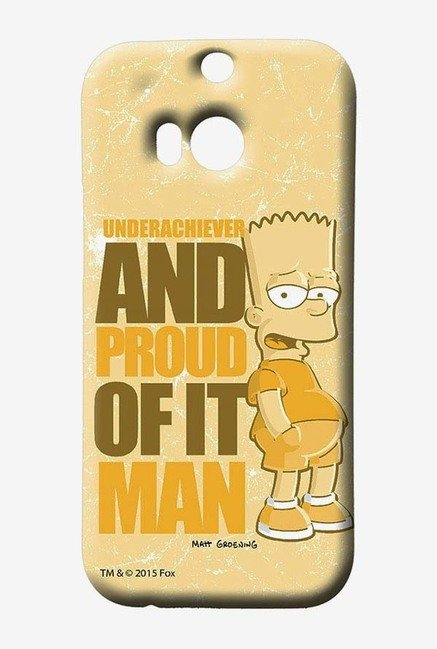 Simpsons Proud Underachiever Case for HTC One M8