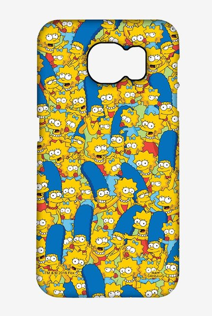 Simpsons Pattern Case for Samsung S6 Edge Plus